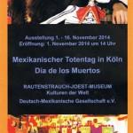 Mexikanischer Totentag in Köln – Día de los Muertos