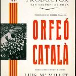 Poster des «Centre de Documentació de l'Orfeó Català» in Europeana