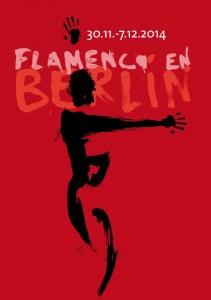 Plakat Flamenco en Berlín