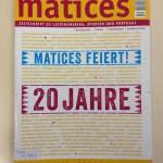 cibera gratuliert: 20 Jahre Matices
