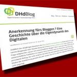 Digitales Publizieren in wissenschaftlichen Blogs