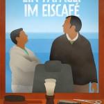 Mikrokosmos Friseursalons: Ein Papagei im Eiscafé