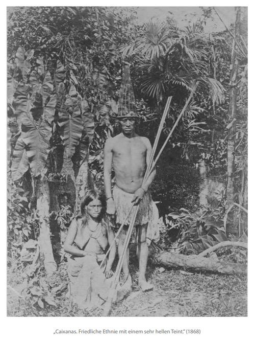 """""""Caixanas. Friedliche Ethnie mit einem sehr hellen Teint."""" (1868)"""