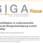 GIGA Focus: Rohstoffabbau in Lateinamerika