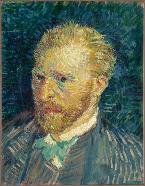 Vincent van Gogh Portrait de l'artiste, tardor de 1887 [Autoretrat]