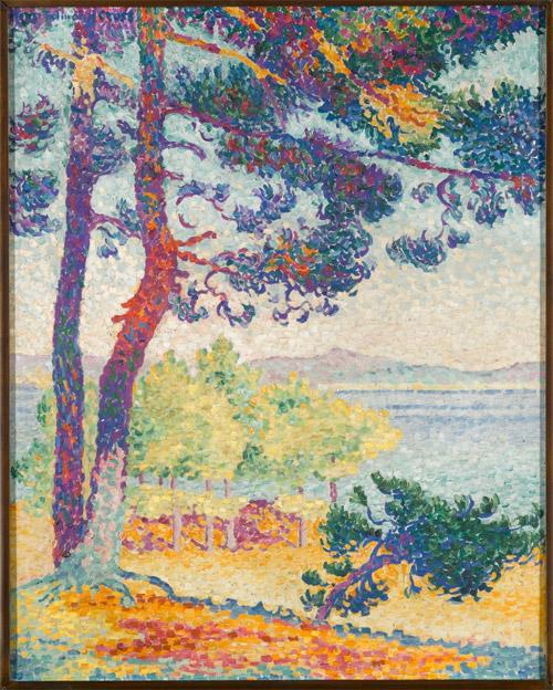 Henri-Edmond Cross L'Après-midi à Pardigon, 1907 [Tarda a Pardigon]