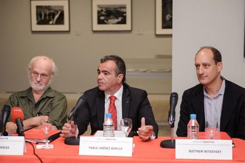 Pressekonferenz in der Fundación Mapfre