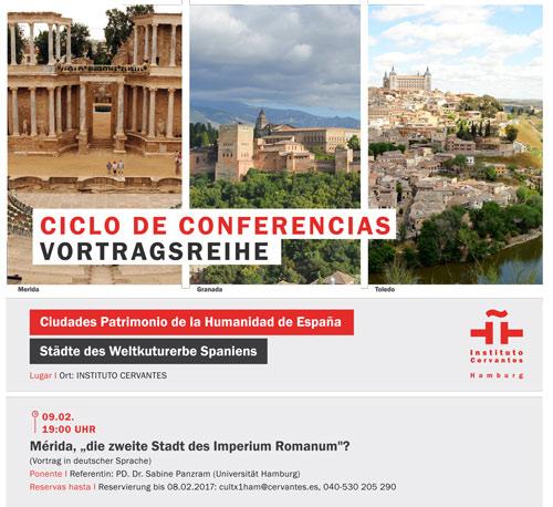 Vortragsreihe Städte des Weltkulturerbes Spaniens