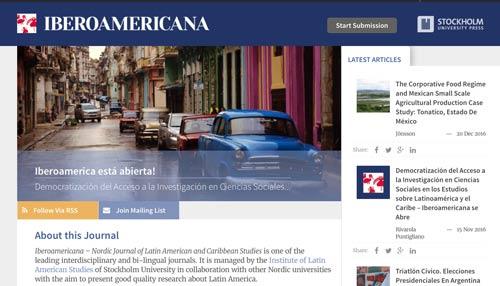 Iberoamericana – Nordic Journal of Latin American and Caribbean Studies