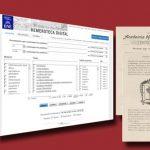 10 Jahre Hemeroteca der Biblioteca Nacional de España