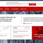 Launch der Website des FID Romanistik
