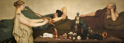 Lawrence Alma Tadema: Escena pompeyana o La siesta