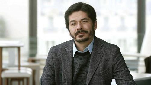 Der mexikanische Schriftsteller Juan Pablo Villalobos, aufgenommen 2016 (picture alliance / dpa / Andreu Dalmau)