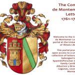 Conde de Montemar Letters online – Briefverkehr zwischen Spanien und Amerika im 18. Jahrhundert