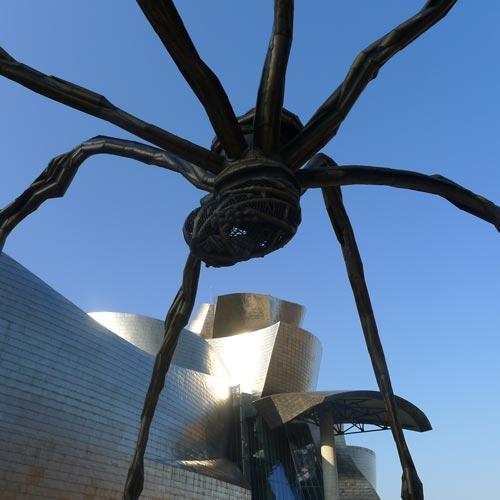 Guggenheim Bilbao: Louise Bourgeois: Maman, 1999, Foto: Heiko Klaas