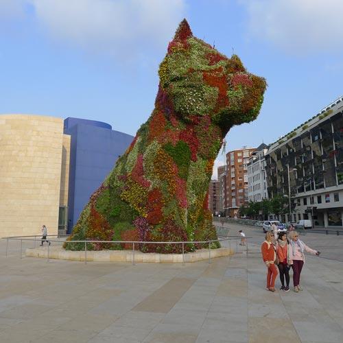 Guggenheim Bilbao: Jeff Koons: Puppy, 1992, Foto: Heiko Klaas