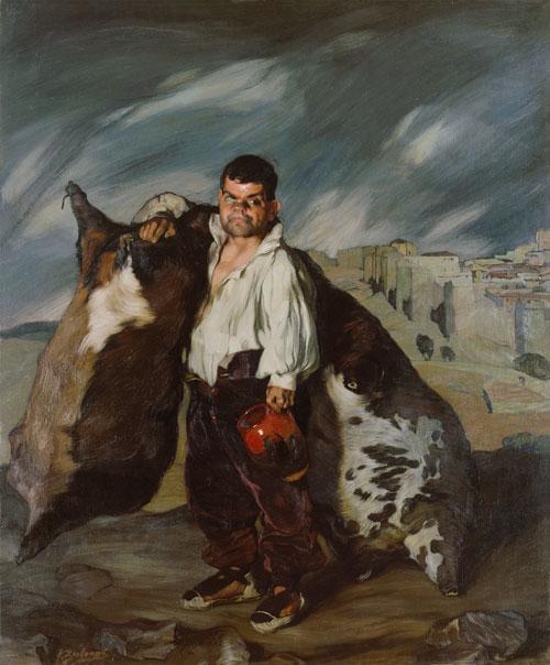 Ignacio Zuloaga: El enano Gregorio el botero