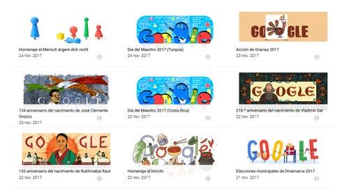 Archivo de Doodles