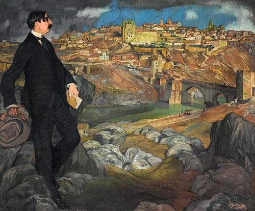 Ignacio Zuloaga: Portrait of Maurice Barrès