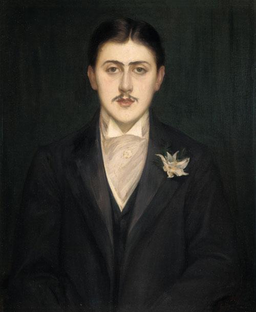Jacques Émile Blanche: Portrait of Marcel Proust
