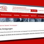 Ihre Anregungen für neue Angebote des FID Romanistik