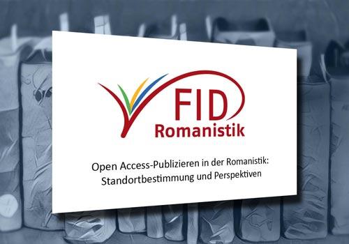 Open Access-Publizieren in der Romanistik – FID-Workshop SUB Hamburg