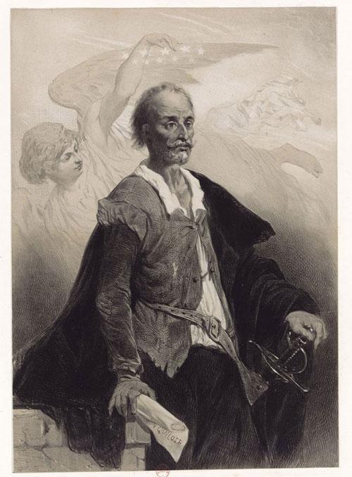 Miguel de Cervantes Saavedra, Célestin Nanteuil