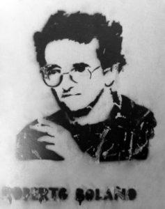 Streetart-Portrait Bolaño