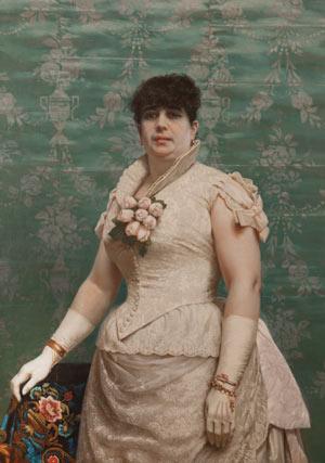 Juan Manuel Blanes - Retrato de Doña Carlota Ferreira de Regunaga