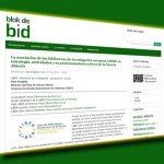 'Blok de Bid' und weitere Wissenschaftsblogs spanischer Universitäten