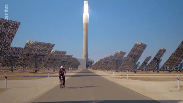 Ein Tag in Spanien: Solaranlage