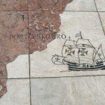 """Die Aufteilung der """"Neuen Welt"""" im Vertrag von Tordesillas"""
