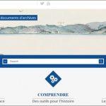 Découvrir quinze siècles de documents d'archives: FranceArchives.fr