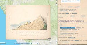 #ChronoAlex: Vegetationsprofil Teide von AvH 1804