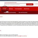 Vereinfachter Zugang zu den Lizenzangeboten des FID Romanistik