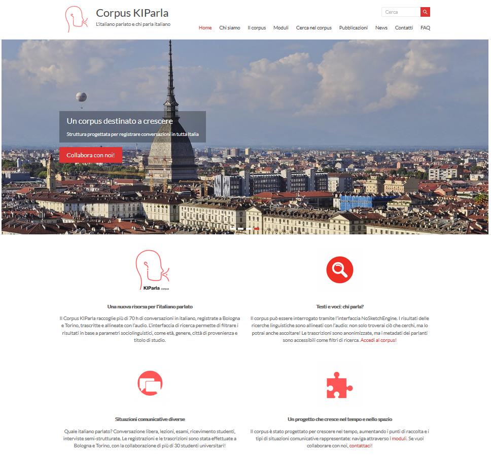 Screenshot der Kiparla-Website