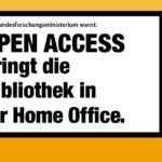 Förderung von Open Access-Projekten durch aktuelles Programm des BMBF