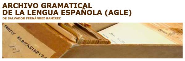 Archivo Gramatical de la Lengua Española