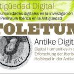 Antike digital: der 11. Toletum-Workshop zur Erforschung der iberischen Halbinsel (22.-24.Oktober 2020)