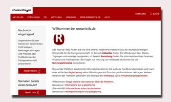 Deutschsprachige Frankophonie auf romanistik.de