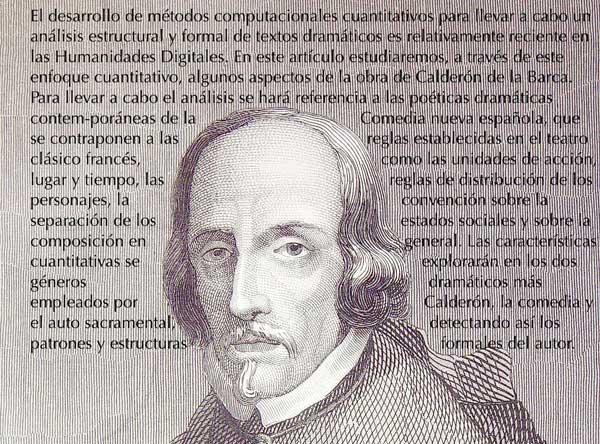 La poética dramática desde una perspectiva cuantitativa: la obra de Calderón de la Barca