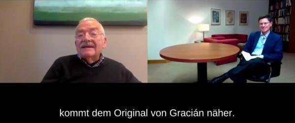 Hans Ulrich Gumbrecht im Gespräch mit Juan Manuel Vilaplana López