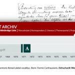 Das Hugo Schuchardt Archiv. Eine digitale Edition der Korrespondenzen Hugo Schuchardts