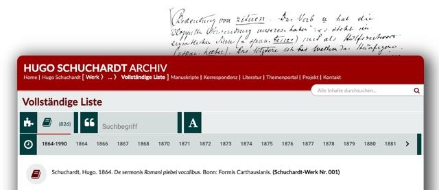 Hugo Schuchardt Archiv