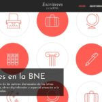 Escritores en la BNE – Das Autor*innen-Portal der Biblioteca Nacional